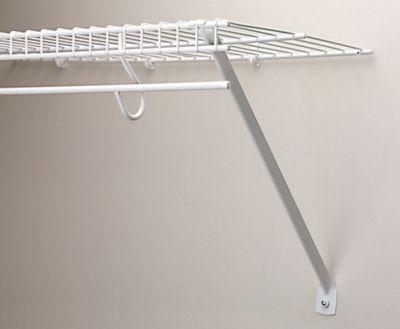 Closet Wire Shelving Support Home Decor