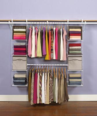 Closet Helper Max Add Ontm Organizer Rubbermaid