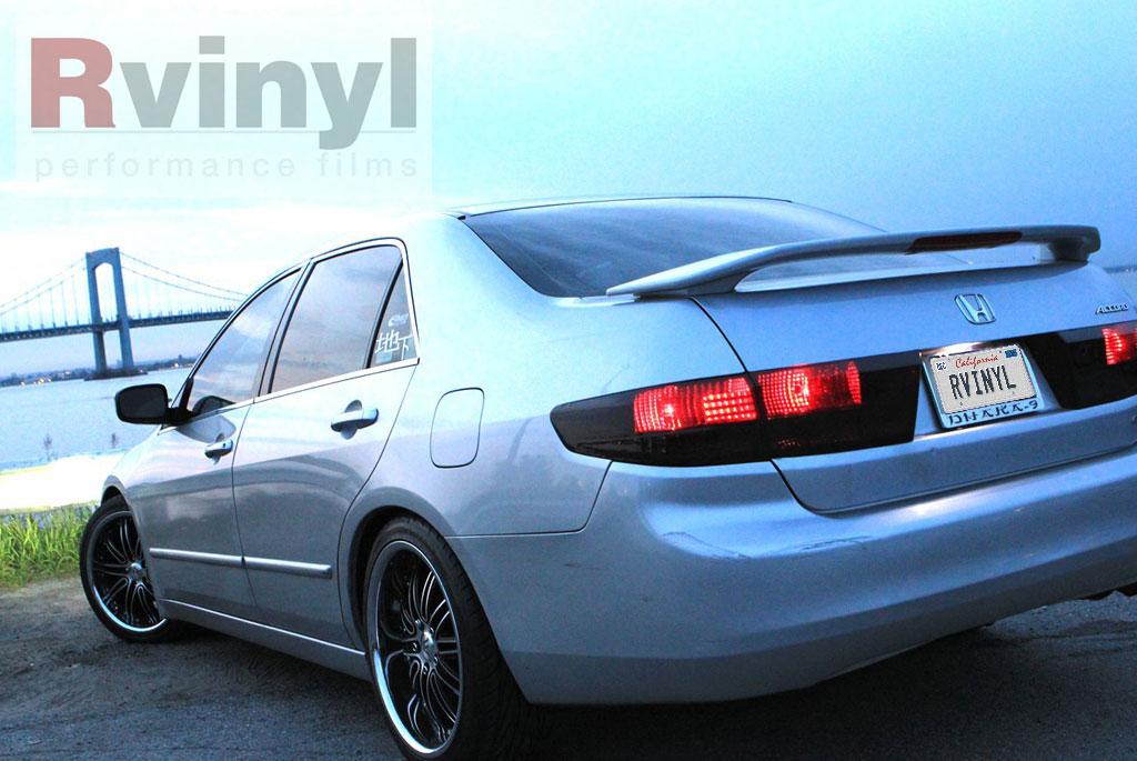 Pro Precut Smoke Taillight Tint Film Kit Honda Accord Sedan 2003