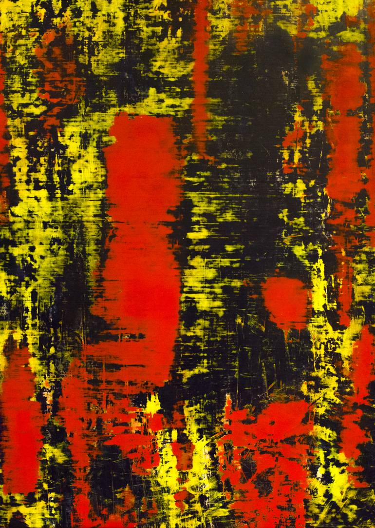 Gerhard Richter Abstraktes Bild 809 4 Abstract Painting Painting By Alex Ivanov Saatchi Art