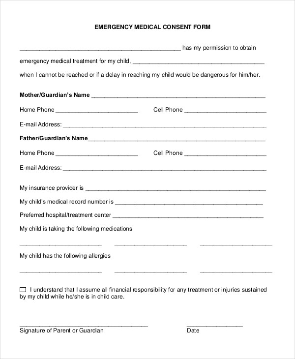 medical consent form for grandparents - Onwebioinnovate