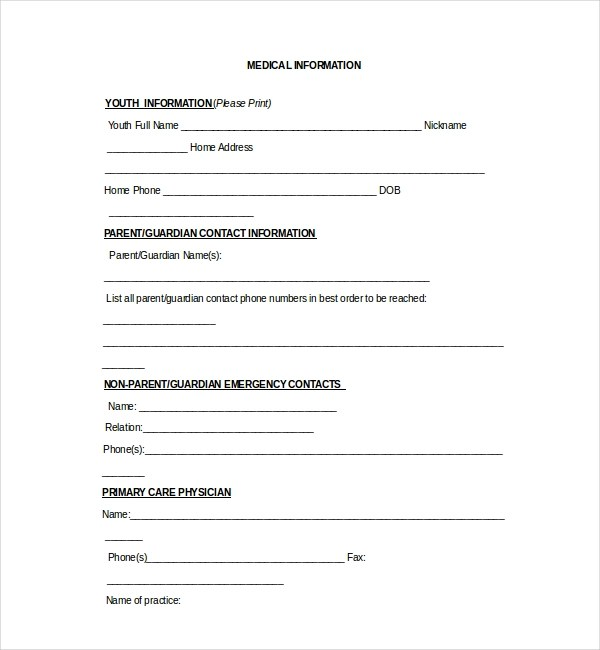 medication release form template - Acurlunamedia