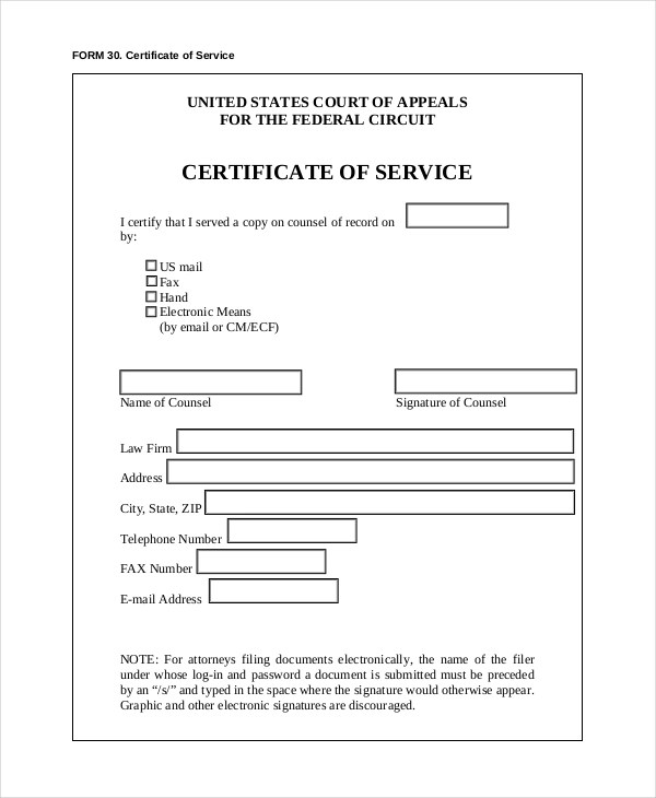 Sample Certificate Of Service Template Massage Services Gift   Certificate  Of Appreciation Examples