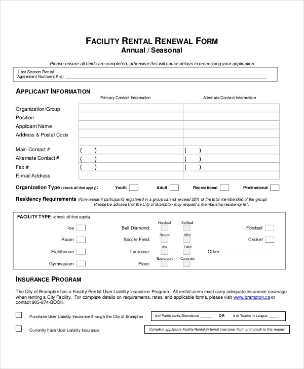 Lease Agreement Form Chicago Best Resumes Curiculum Vitae And - lease renewal form