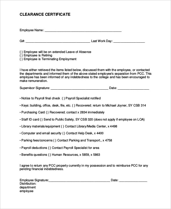 At Will Employment Contract Form – Employment Contract Form