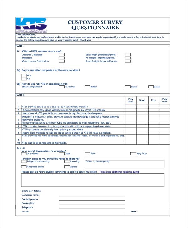Client Satisfaction Survey Template Client Satisfaction Survey - survey forms in word