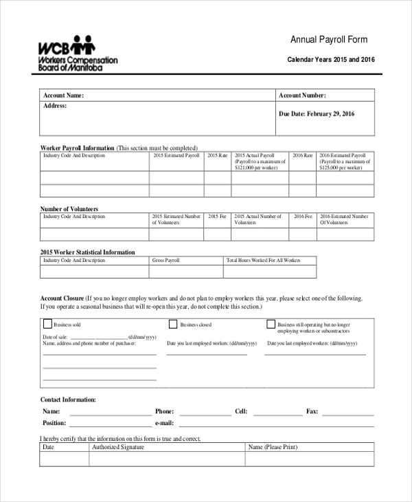 sample payroll forms - Narcopenantly