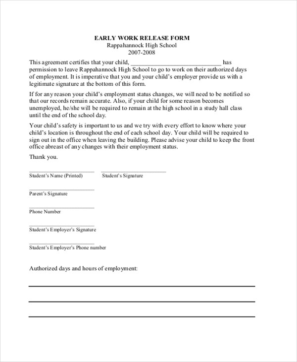 Va Medical Release Form  Is There A Standard Resume Format