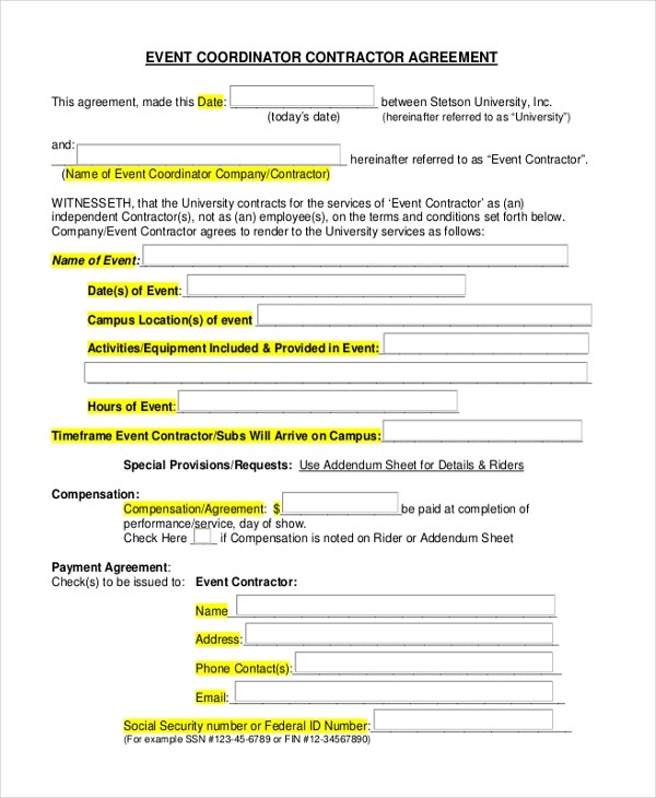 event planning contract samples | node2002-cvresume.paasprovider.com