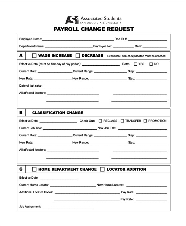 payroll forms - Maggilocustdesign - free payroll forms