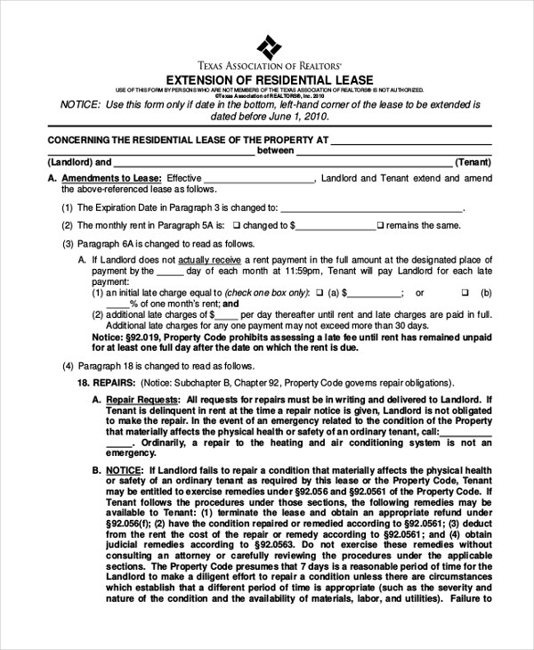 Lease Agreement Validity Best Resumes Curiculum Vitae And Cover - lease extension agreement template