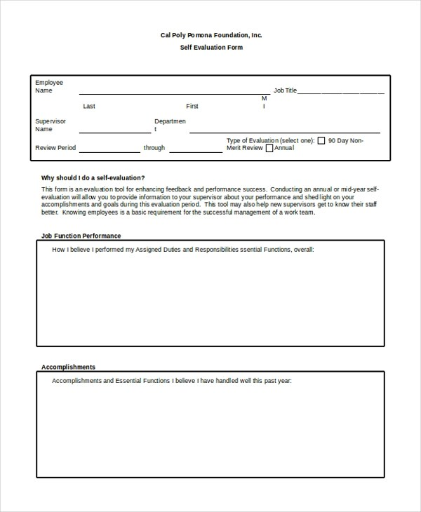 Staff Evaluation Form kicksneakers