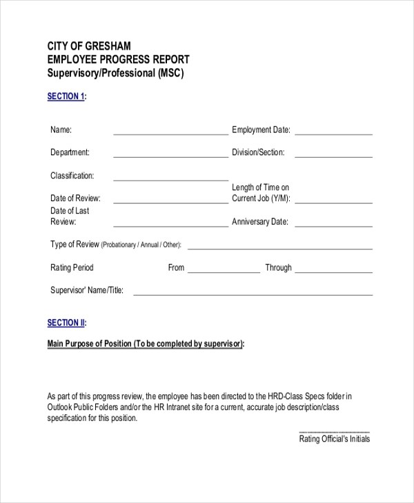 Sample Employee Evaluation Form - 10+ Free Documents in Word, PDF - performance evaluation forms free