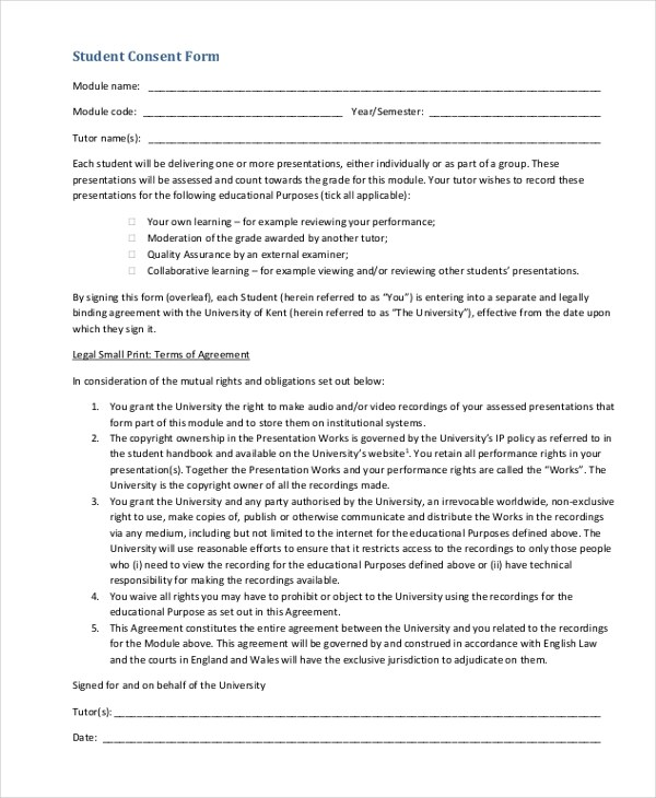 student permission form template - 28 images - 35 permission slip - research consent form template