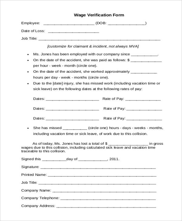 Employment Eligibility Verification Uscis Sample Verification Forms 21 Free Documents In Pdf