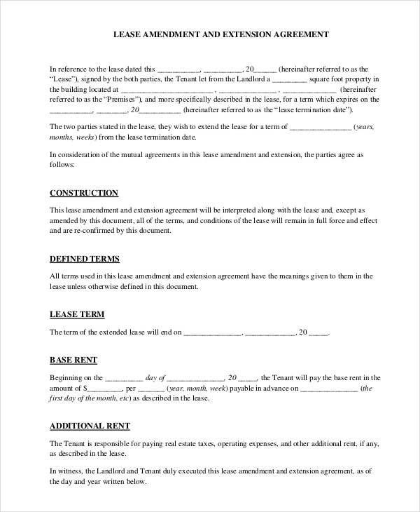 Tenant Agreement Form Sample | Business Letter Template Sample