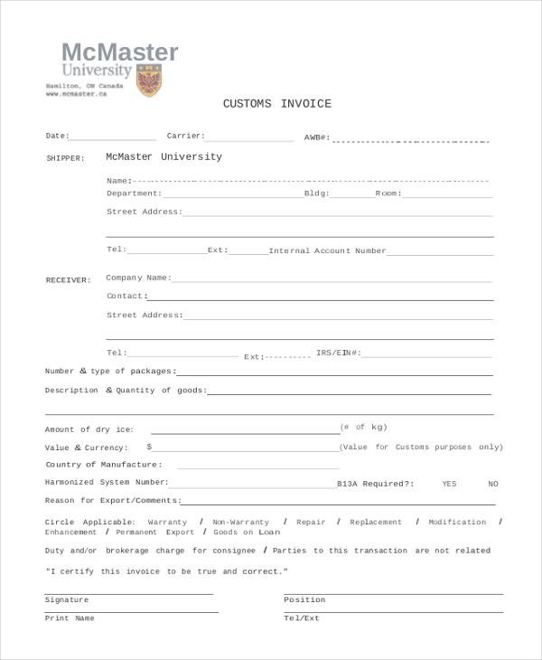 Blank Invoice Sample Free Blank Invoice Templates - blank invoice template for microsoft word