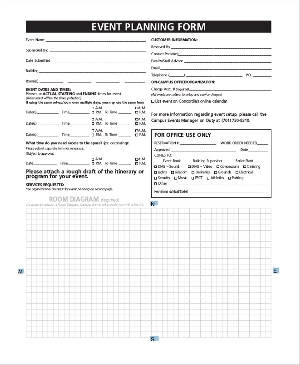 Sample Event Order Form - 10+ Free Documents in Word, PDF