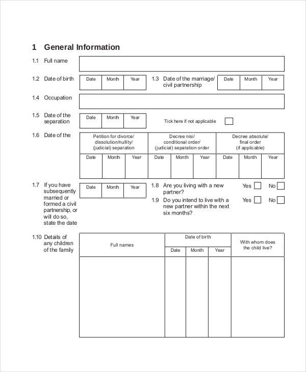 Sample Income Statement Forms - 11 Free Documents in PDF