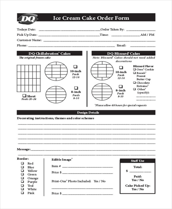 Catering Order Form Catering Invoice Form Example 8+ Sample - event order form