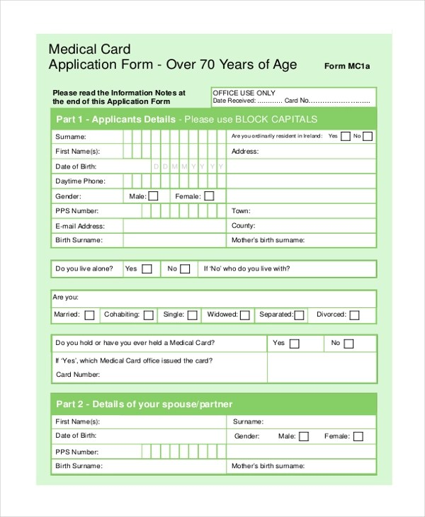 Sample Medical Form - 20+ Free Documents in PDF - medical forms