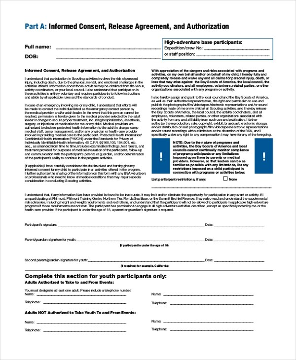 Sample Bsa Medical Form. philmont medical form - nomadconvoy. bsa ...