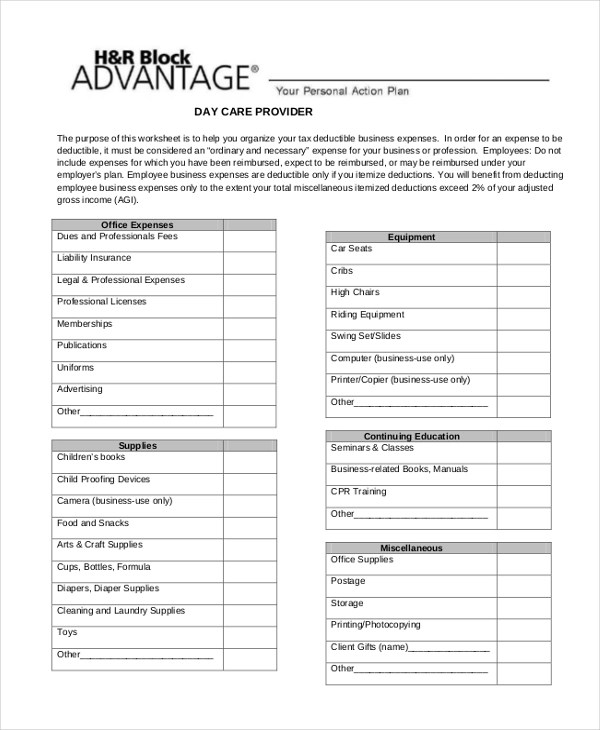 Sample Business Expense Form - 9+ Free Documents in PDF