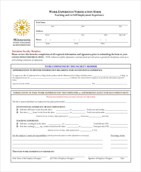 previous employment verification form | node494-cvresume.cloud ...
