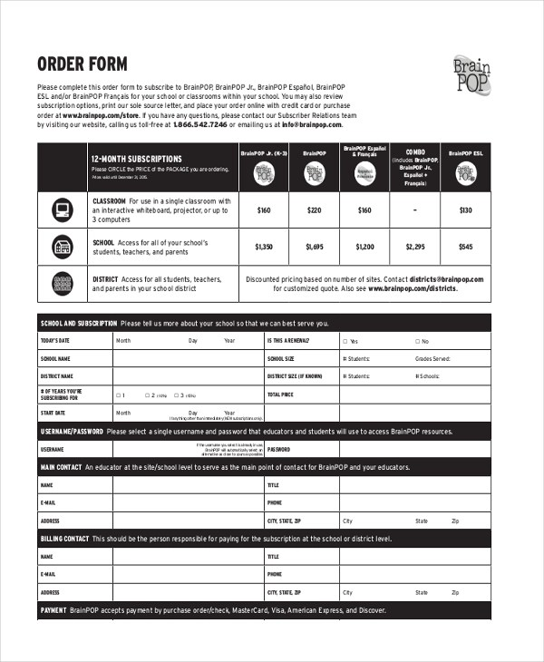 Sample Purchase Order Form - 10+ Free Sample, Example Format - purchase order template pdf