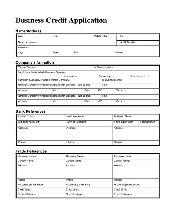 Sample Business Form - 11+ Free Documents in Doc, PDF - business application form