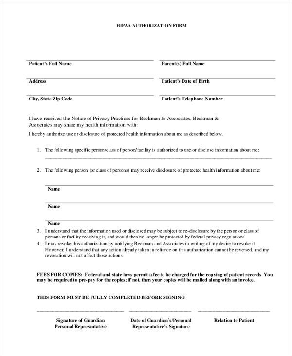 information release form template | enwurf.csat.co