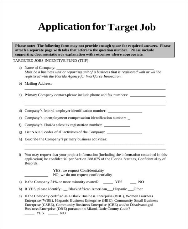 Target Job Application Simple Job Application Forms Td Bank Privacy - sample target job application