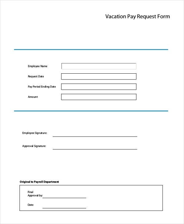 vacation request form pdf - Deanroutechoice - vacation request form