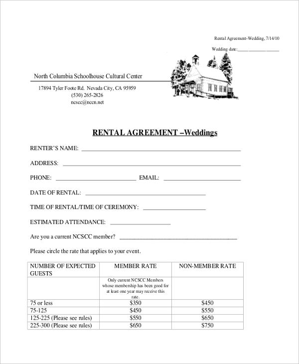 Sample Basic Rental Agreement Form - 11+ Free Documents in PDF, Doc - basic rental agreement