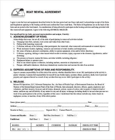 Rental Agreement Sample Form - 10+ Free Documents in Doc, PDF - renters agreement