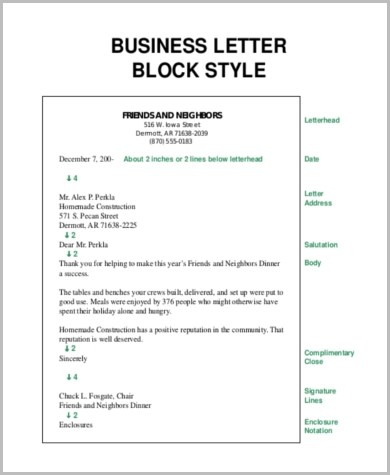 Business Letter Form - 5+ Free Documents in Word, PDF
