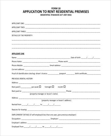 √ Rent Certificate Form House Rent Receipt Format Free Word