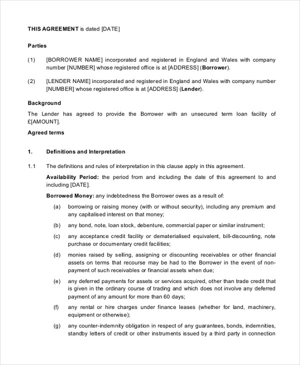 Sample Business Agreement Form - 9+ Free Documents in PDF, Doc - business agreements