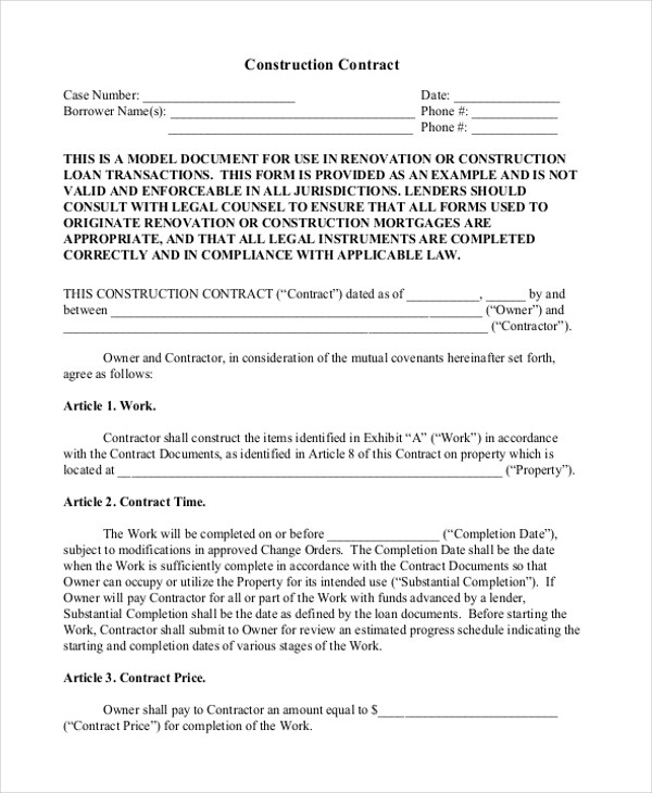 Dealership Contract Template Contract Agreements, Formats - sample novation agreement