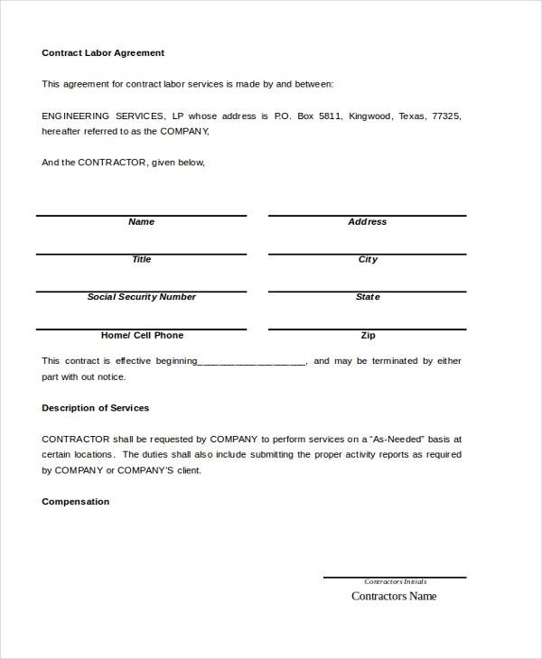8 Sle Contract Termination Agreements Sle Templates ~ Agreement For