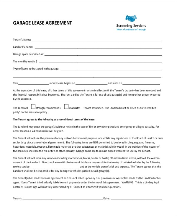 Doc#777984 Generic Lease Agreement u2013 Order Best Price Generic - sample generic rental agreement