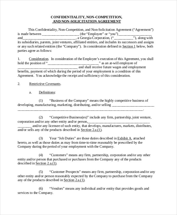 Sample Sales Agreement Form - 10+ Free Documents in PDF, Doc - Sample Sales Agreement