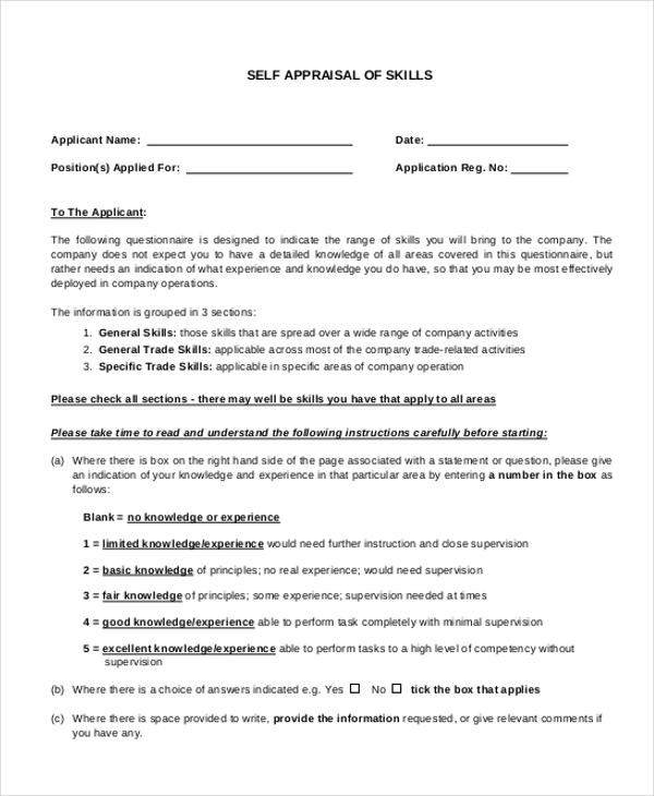 FREE Self Evaluation essay Essay - ExampleEssays