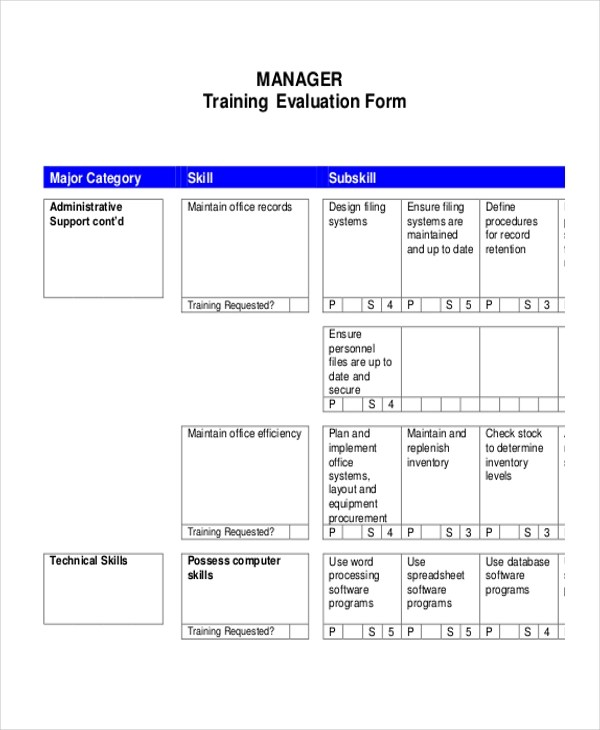 Sample Evaluation Sample Evaluation Request Letter Whatcom Taking - Sample Evaluation Plan