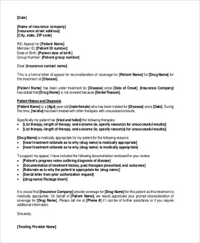 appeal letters - Alannoscrapleftbehind