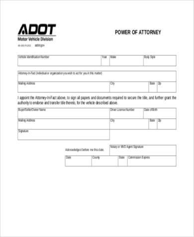 Sample Blank Power of Attorney Forms - 8+ Free Documents in Word, PDF - blank power of attorney form