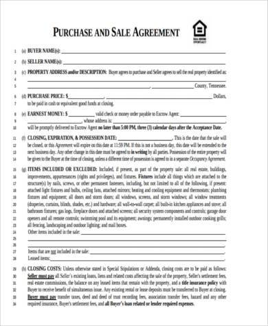 Sample Generic Purchase Agreement Forms - 8+ Free Documents in - sample business purchase agreement
