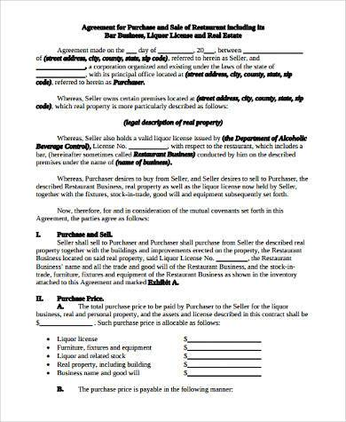 Sample Business Sale Forms - 8+ Free Documents in Word, PDF