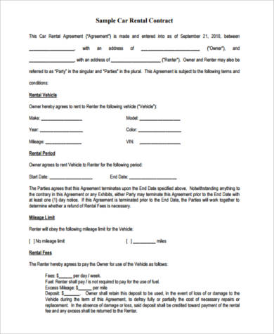 Equipment Lease Vs Rental Agreement | Handwriting Paper Blue And