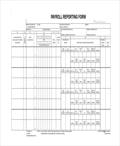 certified payroll forms excel free 13 Mind Numbing Facts